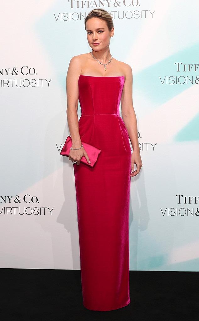Brie Larson, Tiffany & Co, Fashion Police widget
