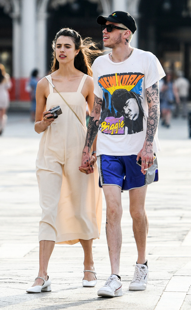 Pete Davidson, Margaret Qualley
