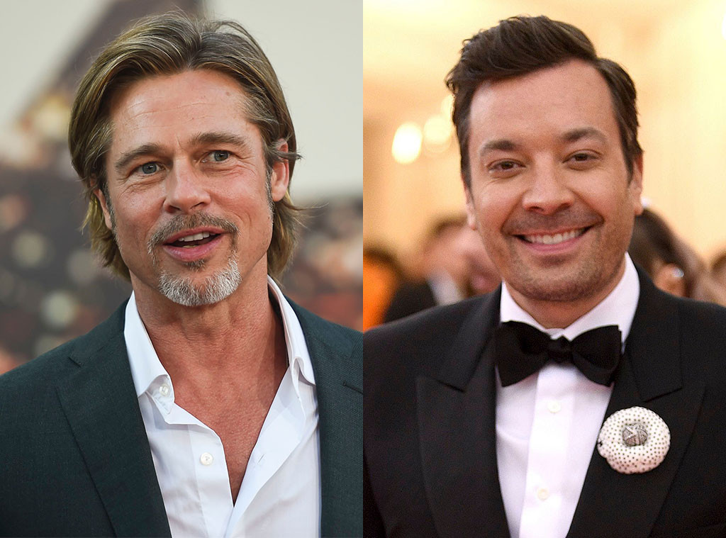 Brad Pitt, Jimmy Fallon