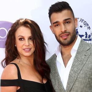 Britney Spears and Sam Asghari, 2019 Daytime Beauty Awards