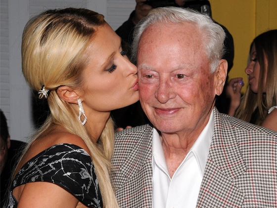 "Paris Hilton Mourns Death of Her Grandfather and ""Incredible Mentor"" Barron Hilton"