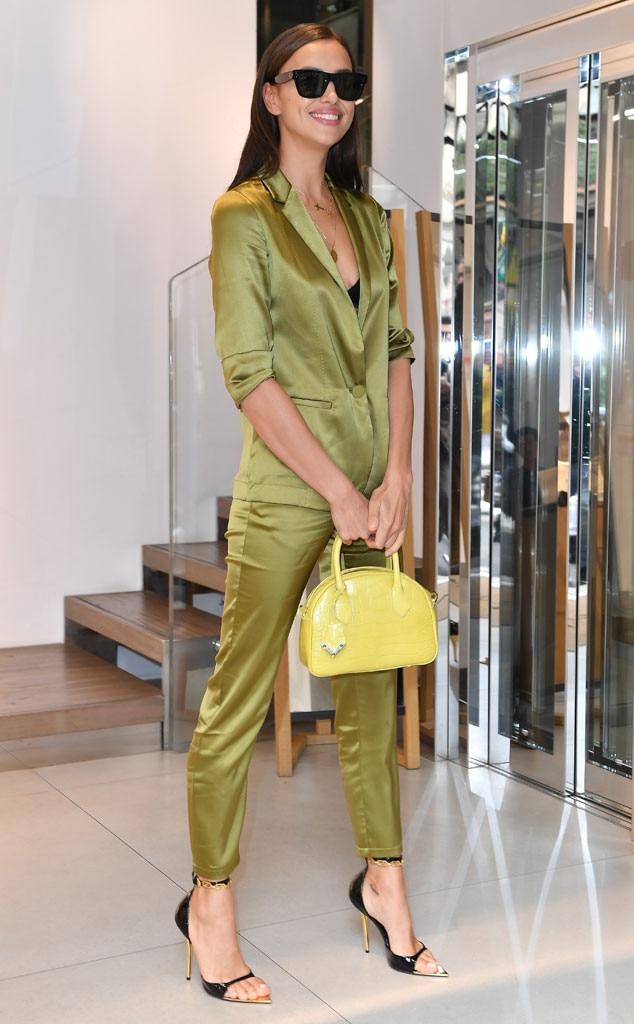 Irina Shayk, Milian Fashion Week