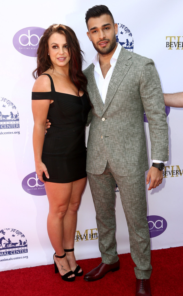 Britney Spears and Sam Asghari, 2019 Daytime Beauty Awards
