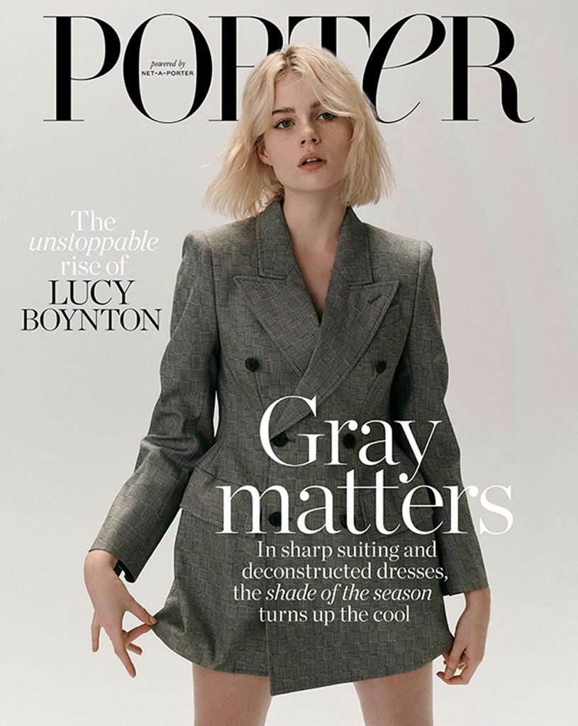 Lucy Boynton, Porter