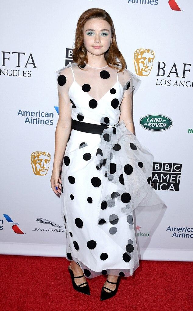 Jessica Barden, BAFTA Los Angeles TV Tea Party 2019