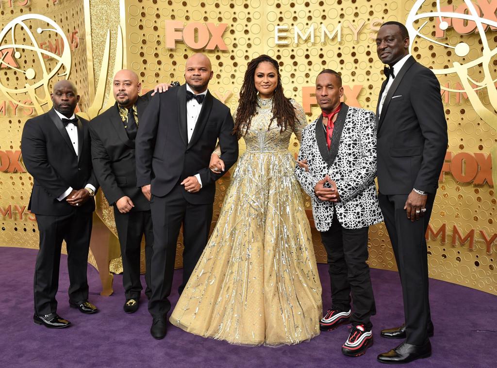 Antron McCray, Korey Wise, Kevin Richardson, Ava DuVernay, Raymond Santana Jr.,Yusef Salaam, 2019 Emmy Awards, 2019 Emmys