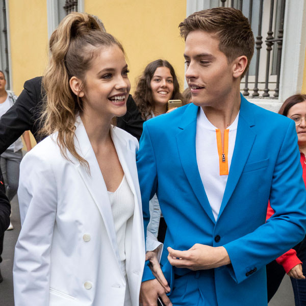 "Barbara Palvin's Cheeky Comment About Dylan Sprouse's ""Peach"" Will Leave You Blushing"
