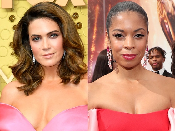 <i>This Is Us</i>' Mandy Moore and Susan Kelechi Watson Are Twinning at the 2019 Emmys