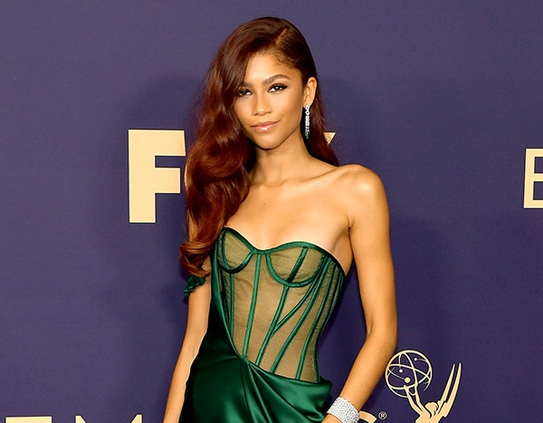 Zendaya Makes Everyone Green With Envy in Poison Ivy-Inspired Gown at 2019 Emmys