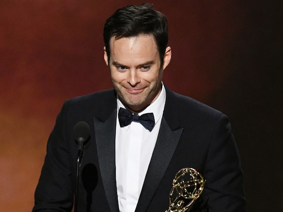Bill Hader Reacts to Shane Gillis' <i>Saturday Night Live</i> Firing at 2019 Emmys