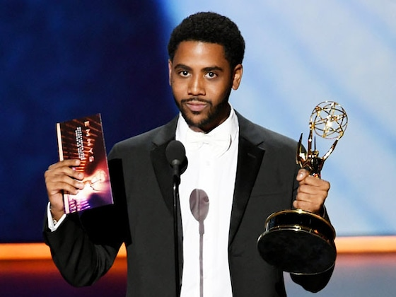 <i>When They See Us</i> Star Jharrel Jerome Dedicates His First Emmy Win to the Exonerated Five