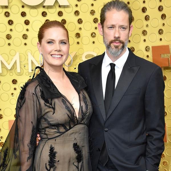 2019 Emmy Awards, Couples, Amy Adams, Darren Le Gallo