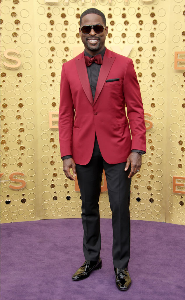 Sterling K. Brown, 2019 Emmy Awards, 2019 Emmys, Red Carpet Fashion