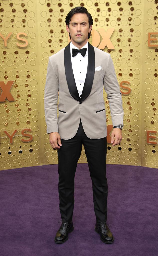 Milo Ventimiglia, 2019 Emmy Awards, 2019 Emmys, Red Carpet Fashion