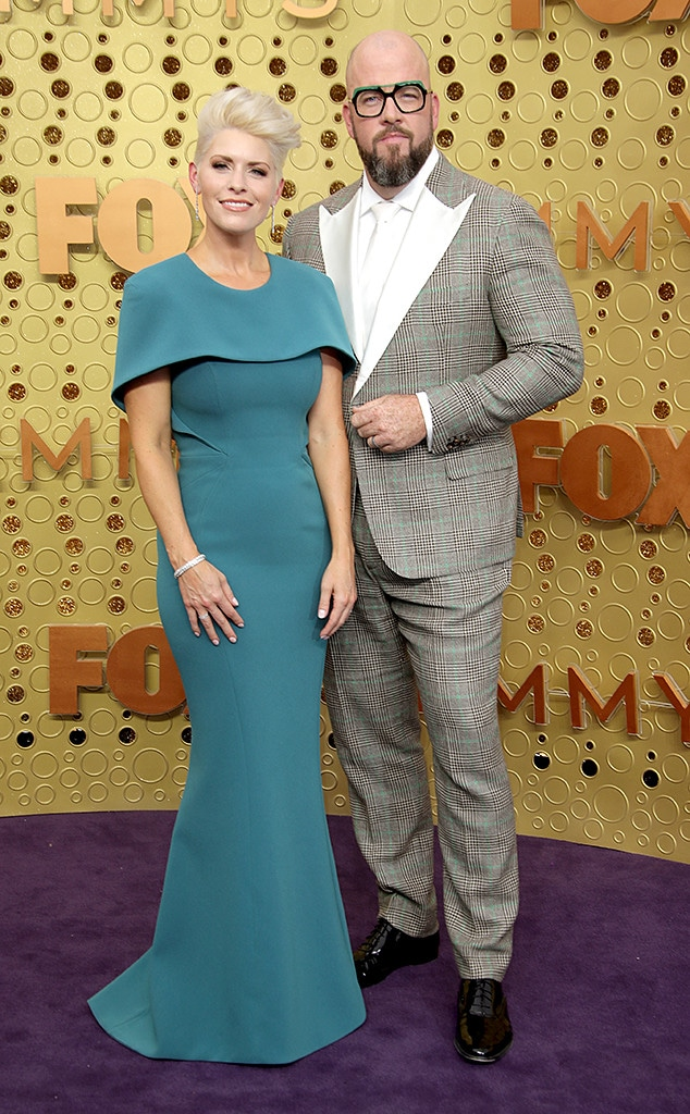 2019 Emmy Awards, Couples, Rachel Reichard, Chris Sullivan
