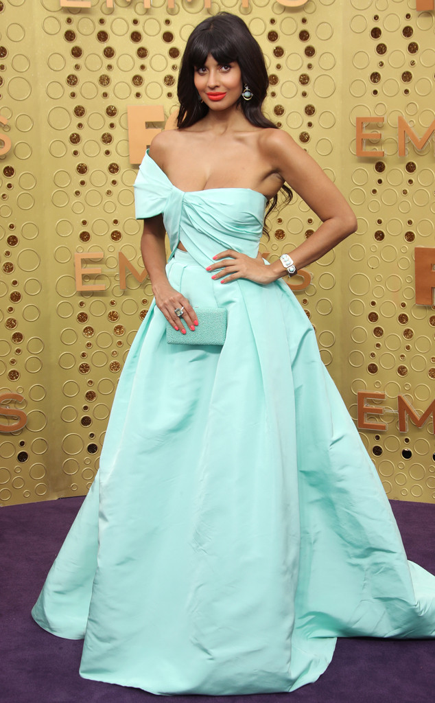 Jameela Jamil, 2019 Emmy Awards, 2019 Emmys, Red Carpet Fashion