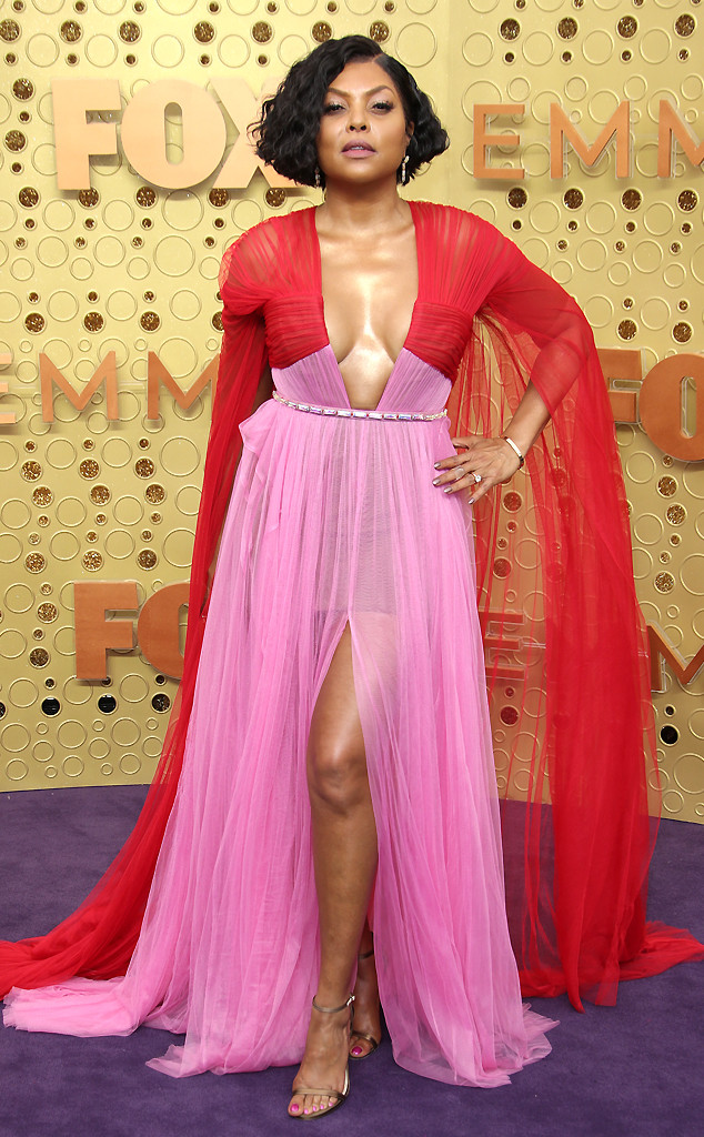 Taraji P. Henson, 2019 Emmy Awards, 2019 Emmys, Red Carpet Fashion