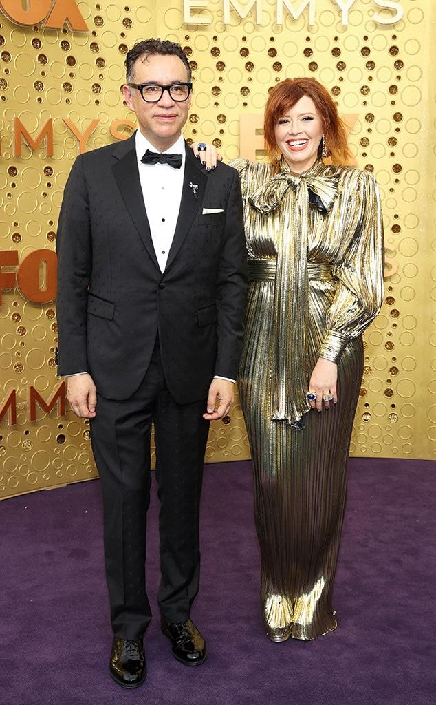 2019 Emmy Awards, Couples, Fred Armisen, Natasha Lyonne
