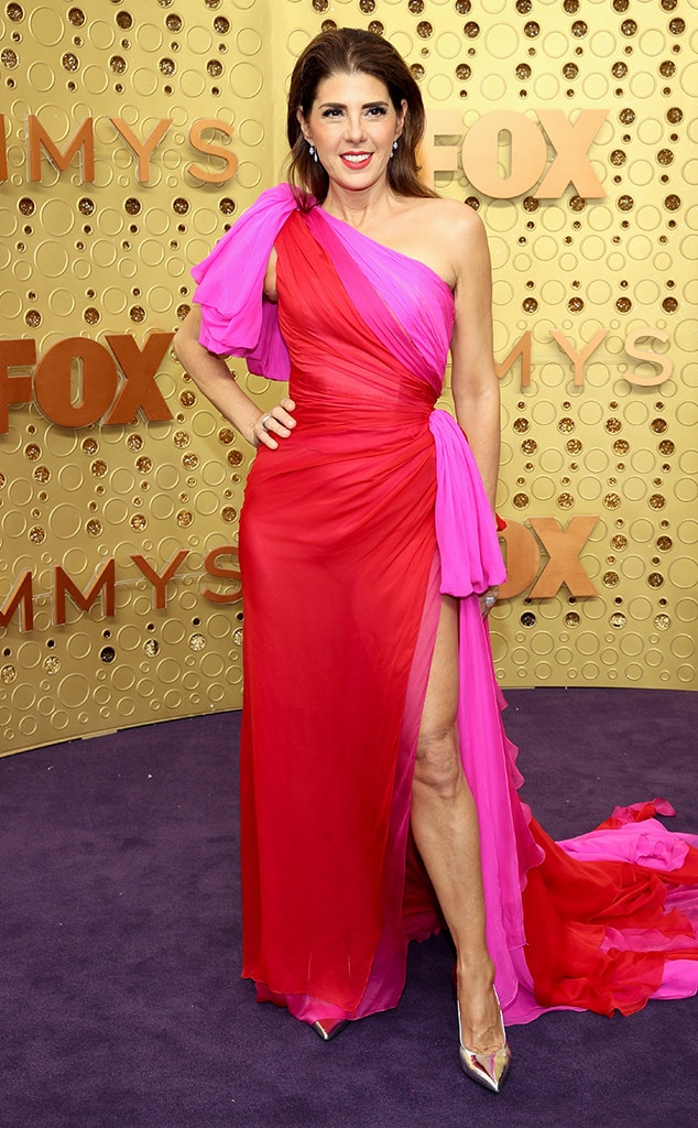 Marisa Tomei from Emmys 2019: Red Carpet Fashion | E! News