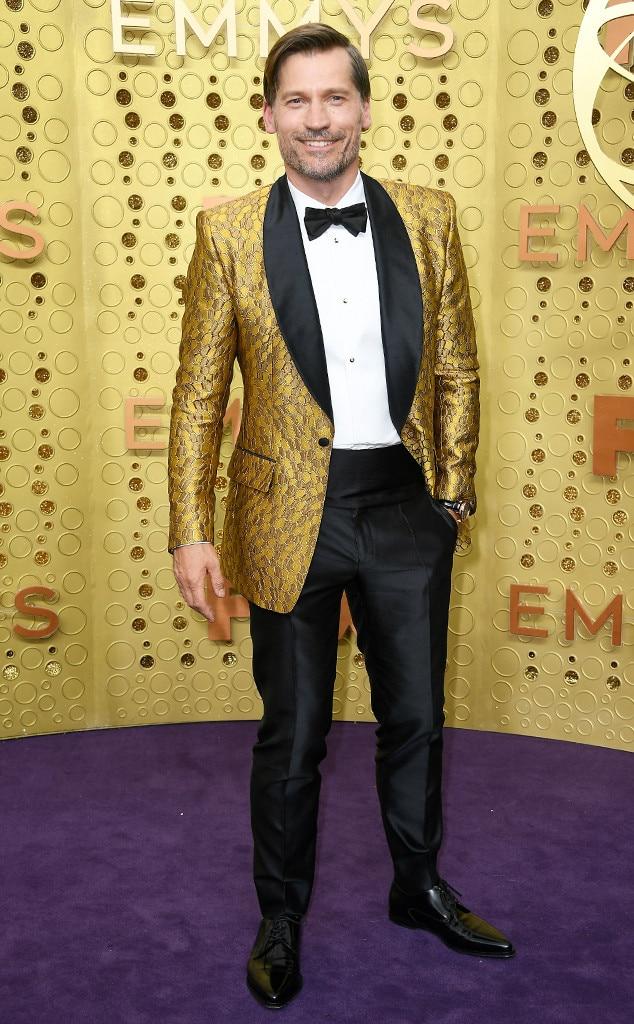 Nikolaj Coster-Waldau, 2019 Emmy Awards, 2019 Emmys, Red Carpet Fashion