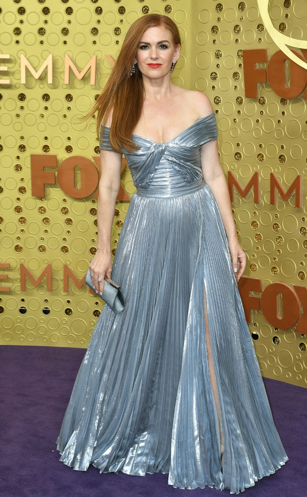 Isla Fisher, 2019 Emmy Awards, 2019 Emmys, Red Carpet Fashion