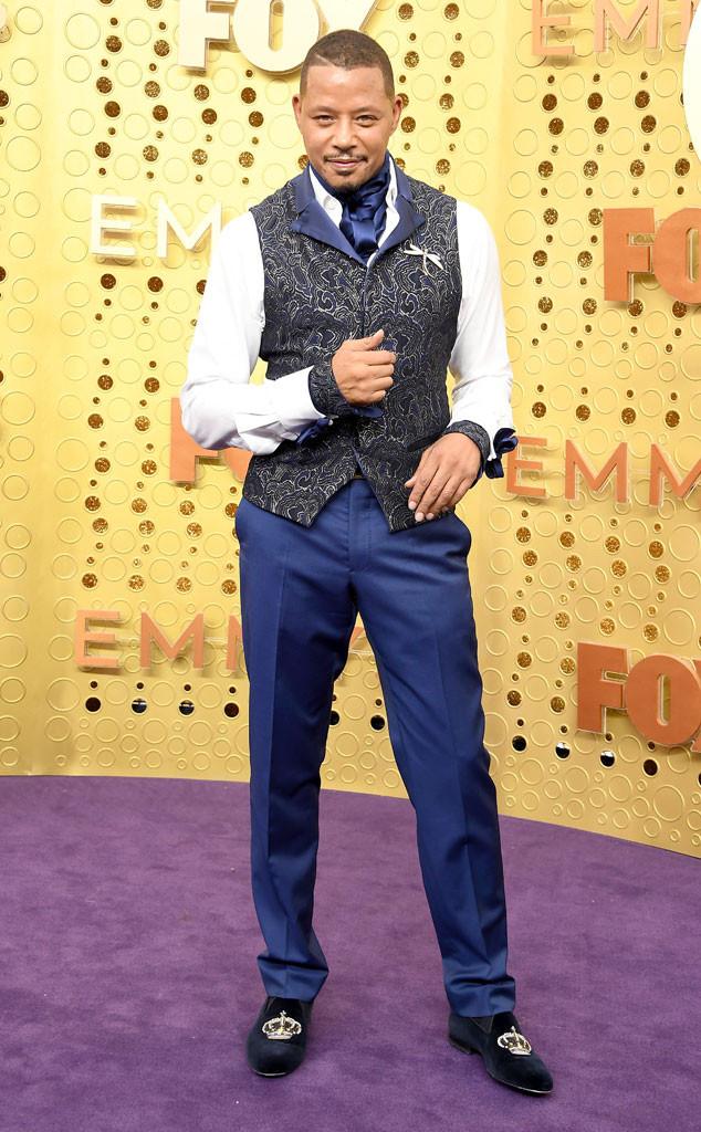 Terrence Howard, 2019 Emmy Awards, 2019 Emmys, Red Carpet Fashion