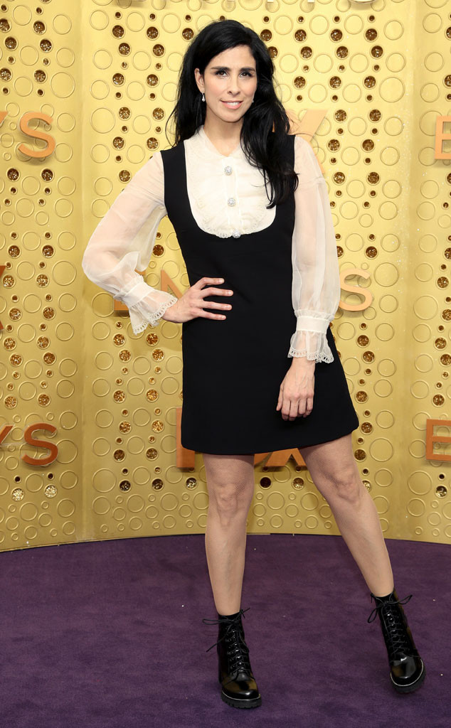 Sarah Silverman, 2019 Emmy Awards, 2019 Emmys, Red Carpet Fashion