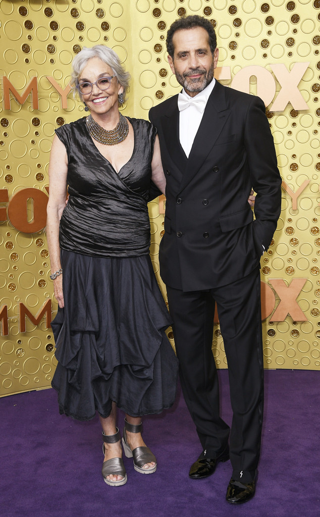 Brooke Adams, Tony Shalhoub, 2019 Emmy Awards, Couples
