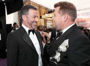 Jimmy Kimmel, James Corden, 2019 Emmy Awards, Emmys, Candids