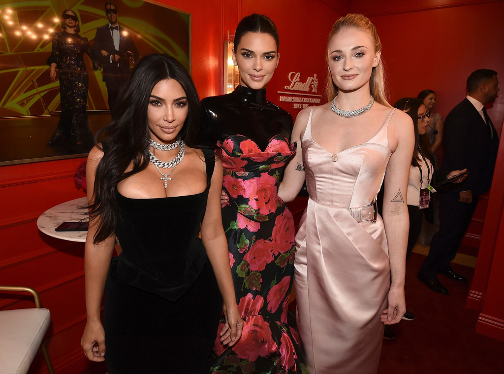 Kim Kardashian, Kendall Jenner, Sophie Turner, 2019 Emmy Awards, Emmys, After Party