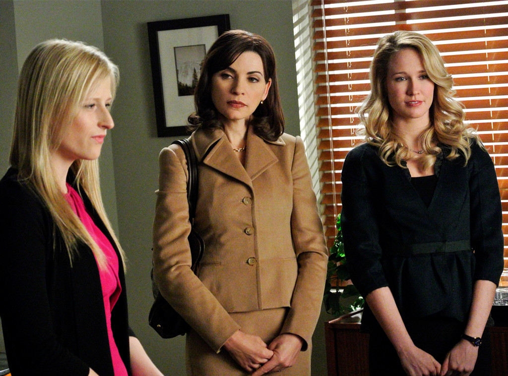 Julianna Margulies, Anna Camp, Mamie Gummer, The Good Wife