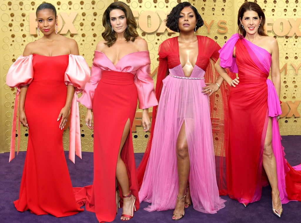 Emmys 2019 Red and Pink Trend IRL
