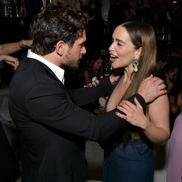 Kit Harington, Emilia Clarke, 2019 Emmy Awards, Emmys, After Party, Candids