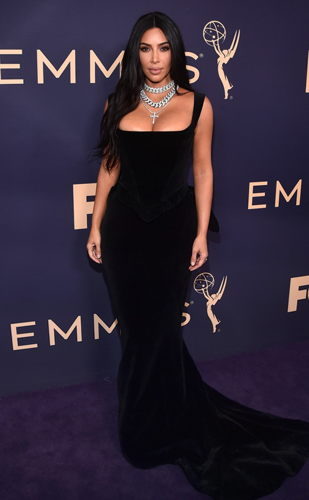 Kim Kardashian, 2019 Emmy Awards, 2019 Emmys, Red Carpet Fashion