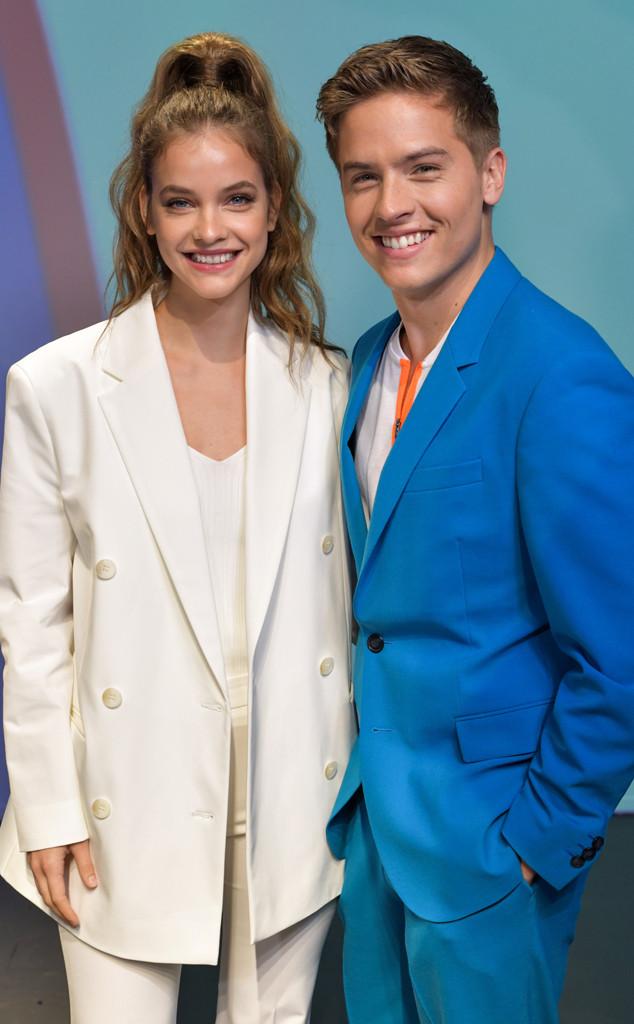 Barbara Palvin, Dylan Sprouse, Milan Fashion Week, Celebrities at Fashion Week