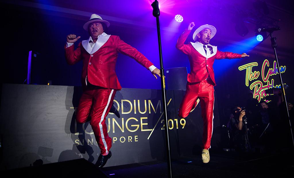 Podium Lounge 2019