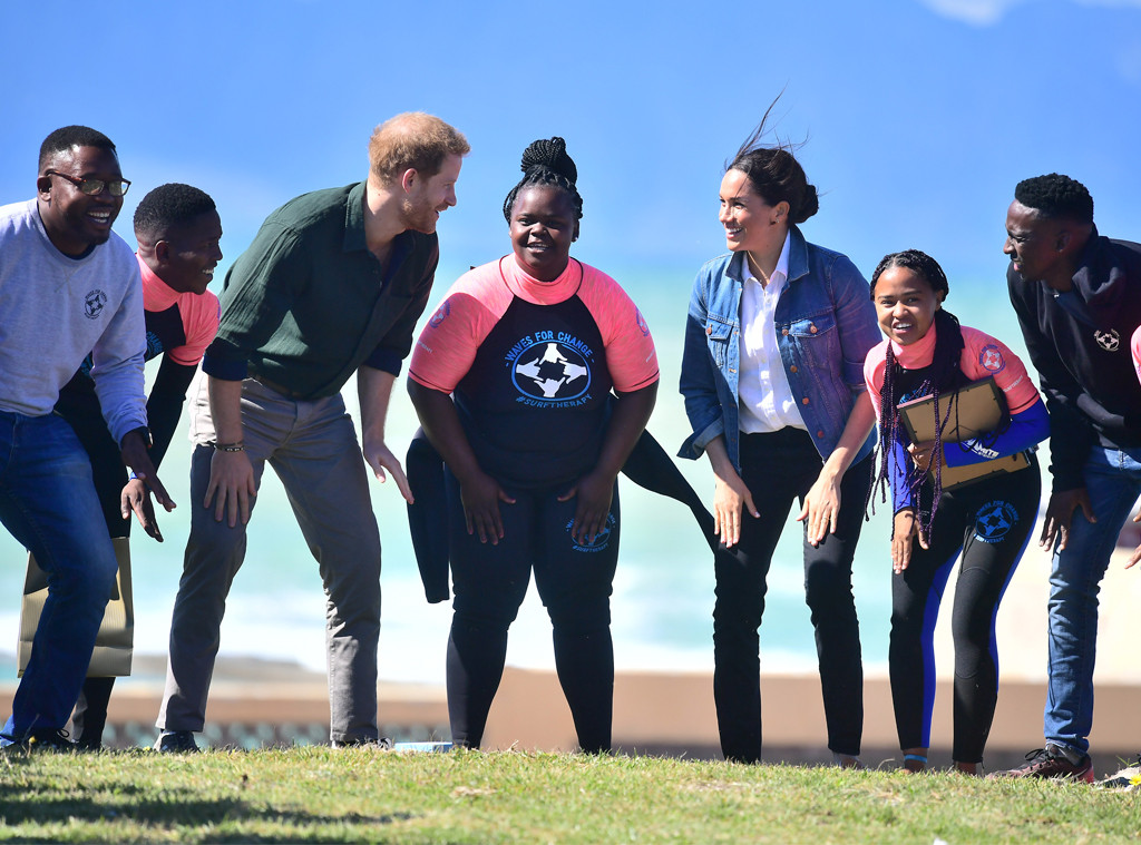 Meghan Markle, Prince Harry, South Africa