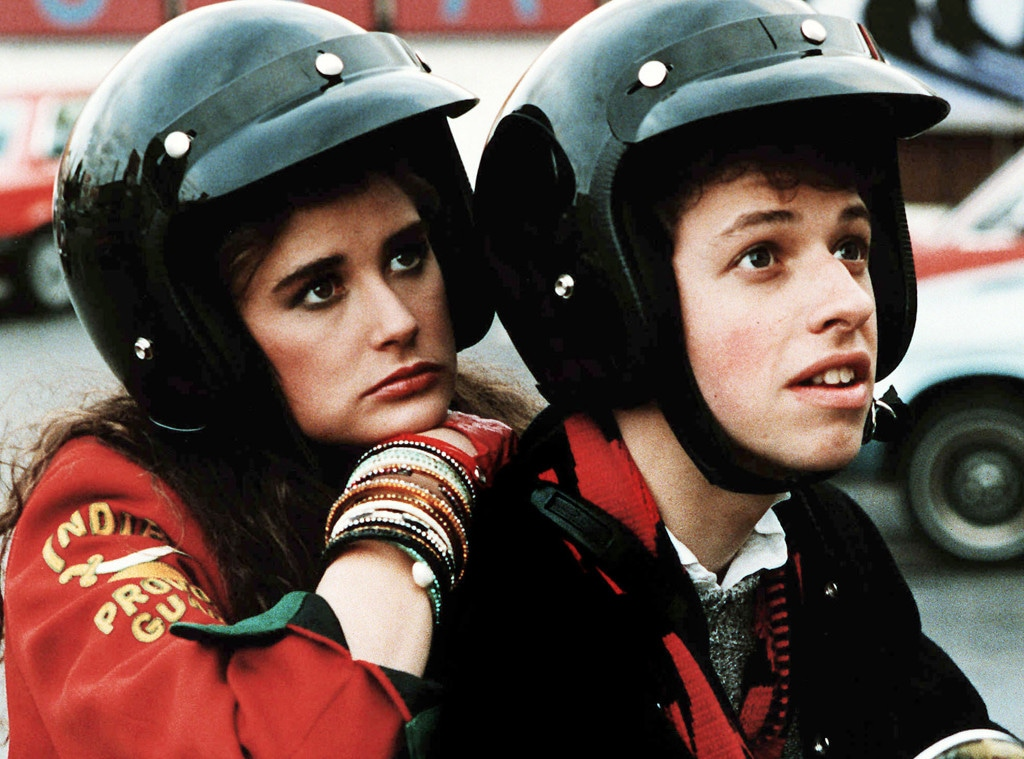 Demi Moore and Jon Cryer