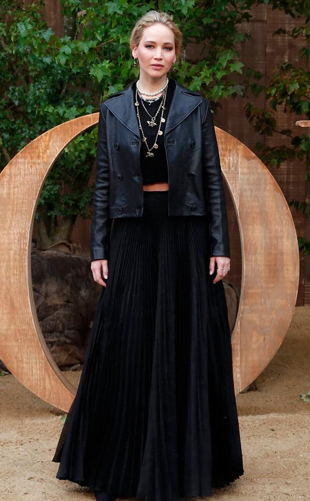 Christian Dior show, Jennifer Lawrence