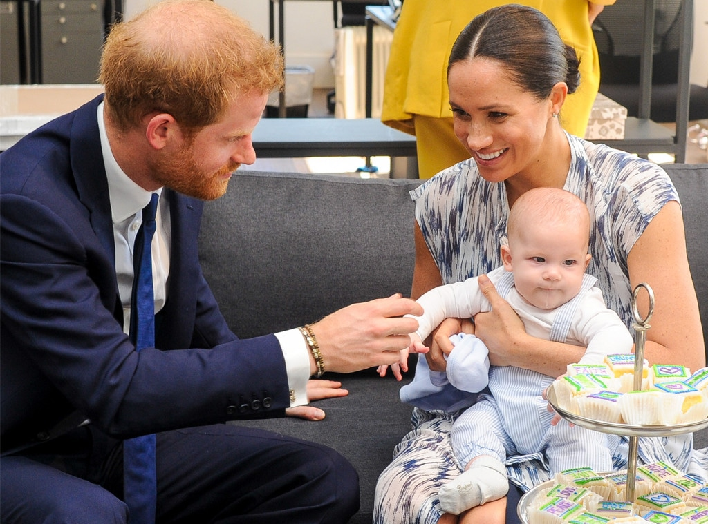 Prince Harry, Meghan Markle Archie Harrison