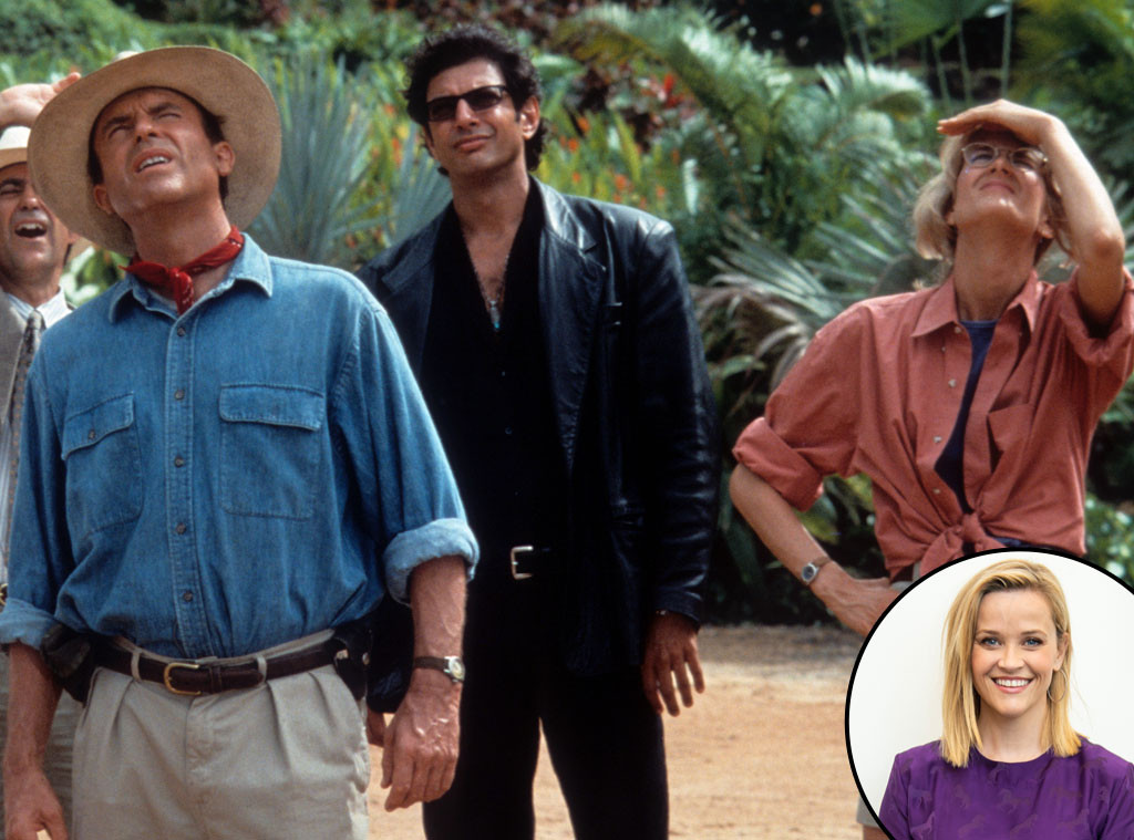Sam Neill, Jeff Goldblum and Laura Dern, Reese Witherspoon