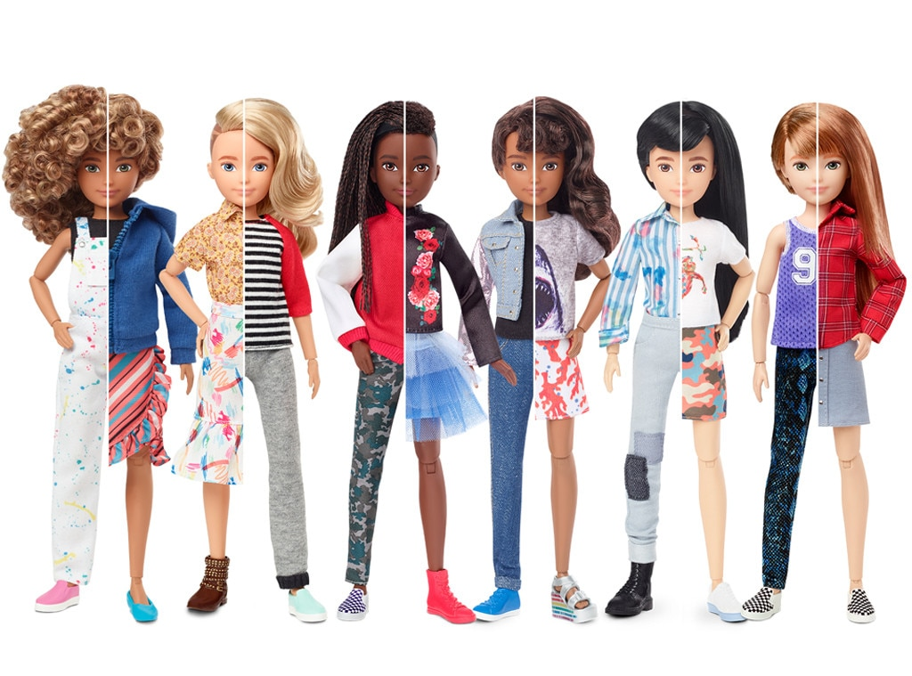 Mattel launch a gender neutral doll