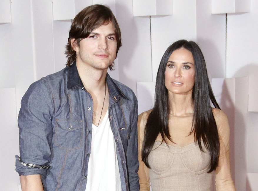 Demi Moore, Ashton Kutcher, 2011