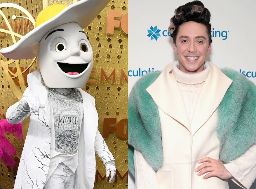 The Egg Costume, Johnny Weir