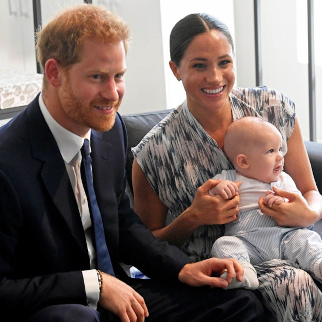 Hear Meghan Markle and Prince Harry's Son Archie Speak for the First Time in Podcast Debut