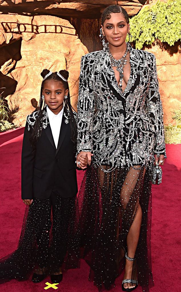 Beyonce, Blue Ivy Carter, Lion King premiere