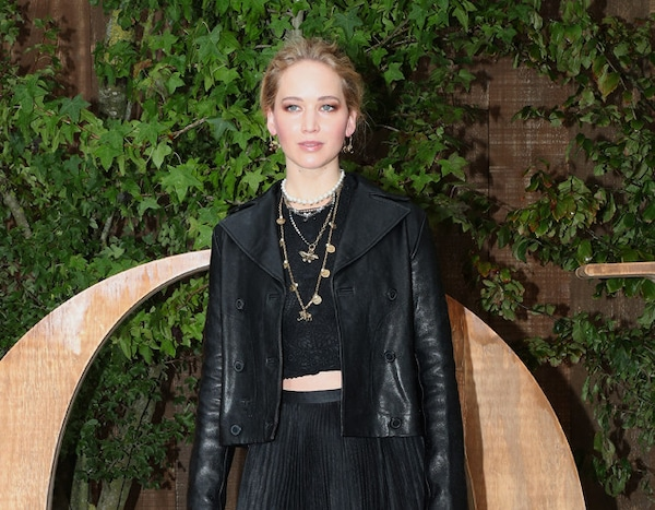 Jennifer Lawrence from See Every Celebrity at Fashion Week ...