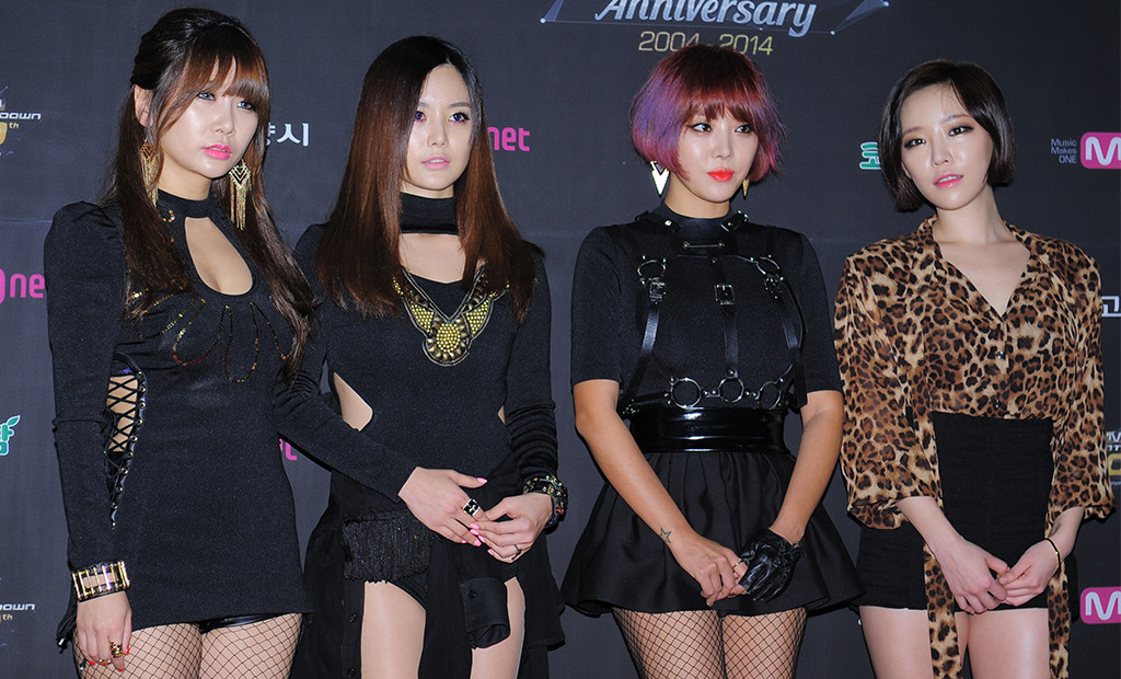 """Brown Eyed Girls, Mnet """"M Count Down"""" 10th Anniversary"""
