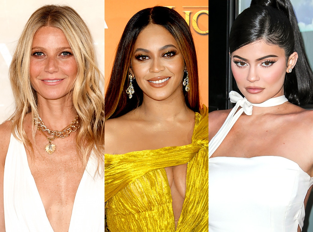 Celebrity Girl Bosses,Kylie Jenner, Beyonce, Gwyneth Paltrow