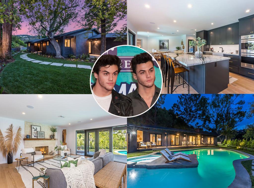 Ethan Dolan, Grayson Dolan, The Dolan Twins, Real Estate, House